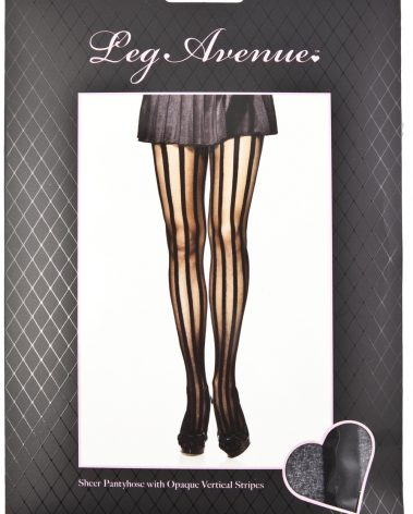 VERTICAL STRIPED STOCKINGS